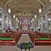 Saints Teresa and Bridget Roman Catholic Church, in Saint Louis, Missouri, USA - nave wide