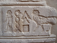 Wall Carving at Philae Temple, Aswan, Egypt (radiowood) Tags: temple egypt nile philae aswan isis