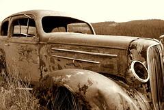 (Emery O) Tags: old car colorado rusty fenders