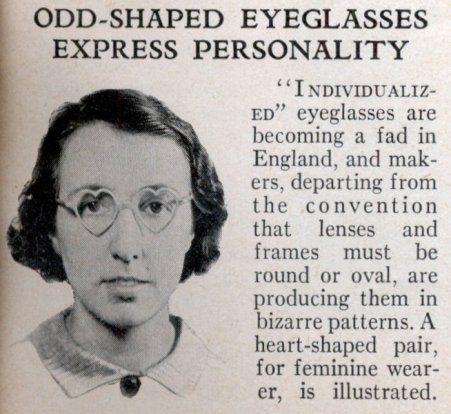 Odd-Shaped Glasses