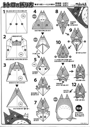 totoro-origami-instructions by andre avelas.