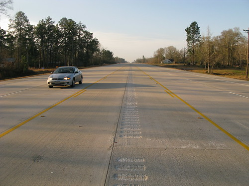 Runway or roadway? (Near Kirbyville, Texas, USA)