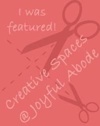 Creative Spaces on JoyfulAbode.com