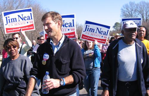 Jim Neal marching at HKonJ