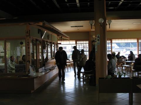 天理市トレイルセンター-休憩所
