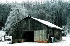 Winters' sleep (KM Preston Photography) Tags: winter ice rural barns views 100views cubism flickrmostinteresting supershot mywinner impressedbeauty kmprestonphotography