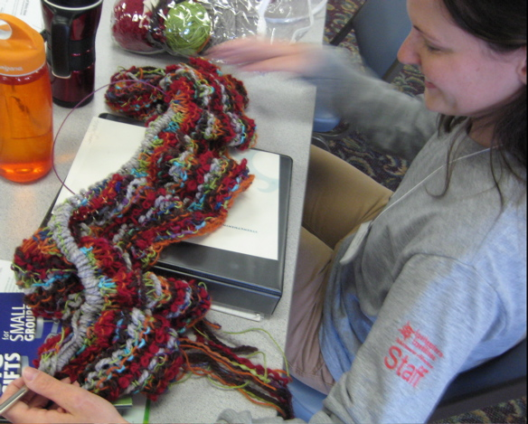 conference knitting 1