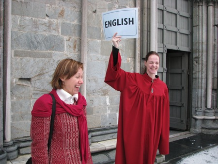 English Spoken Here (Trondheim!)