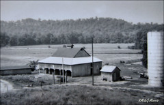 The Old Barn (KM&G-Morris) Tags: family noel silo missouri grandparents neosho oldbarn indianriver lanagan ozarkmtnvalley parishland