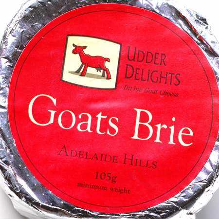 udder delights goats brie© by Haalo