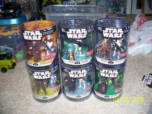 Star Wars - Order 66 2008 (Target Exclusive 1-6)