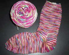 Fannies Fingerweight Sock One