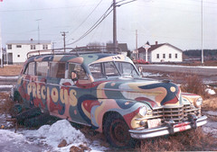 Psychadelic 1947 Cadillac airport limousine (JarvisEye) Tags: antique cadillac newbrunswick precious psychadelic limousine 1947 grandmanan voitureancienne hesseisenhardt