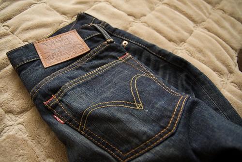 jeans denim 707 levis sigma1770mmf2845