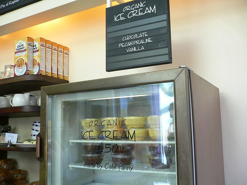 Organic Ice Cream - Cafe Fanny