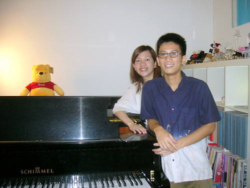 Piano Teacher and I