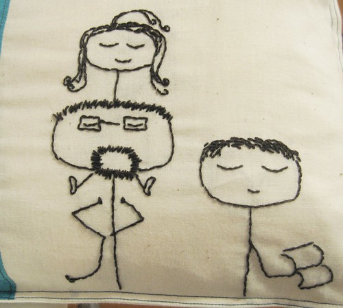 Pillow for mother's day (detail)