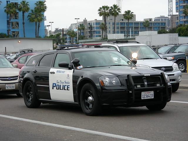 cops sandiego police cop policecar dodge magnum stationwagon copcar harborpolice portdistrict sdupd
