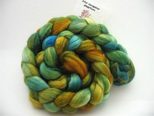 Egyptian Green Merino/Silk