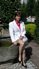 Molsdorf 3 (Marie-Christine.TV) Tags: woman lady tv feminine tgirl business suit transvestite secretary elegant feminin businesswoman mariechristine skirtsuit womans