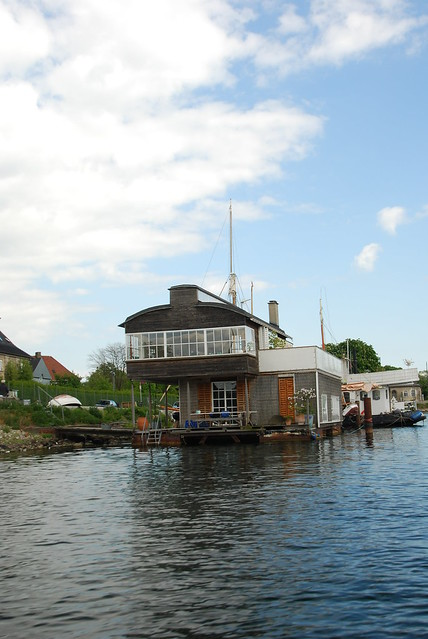 Houseboat in Copenhagen