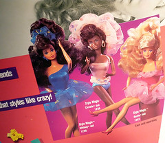 Barbie Style Magic (miyalumix) Tags: world africa blue black face dolls princess south magic barbie style 80s whitney mold mattel aa steffie