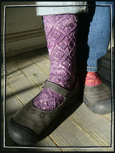 purple haze socken