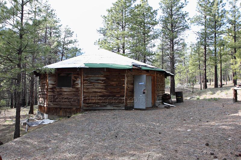 An abandoned yurt (by KansasA)