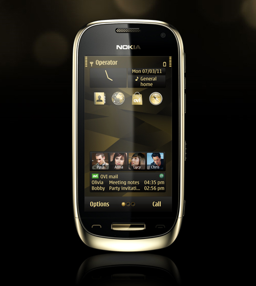 Nokia Oro Gold Theme
