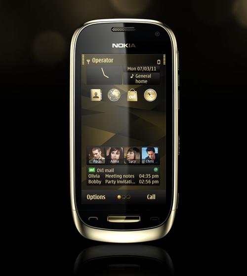 Nokia Oro Gold Theme