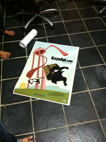 KayuApi Poster