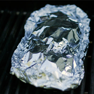 Herbed Grilled Potatoes - foil packet