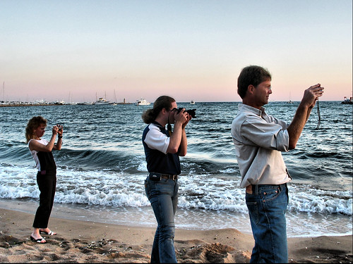 Cannes: Photographing the sunset