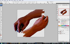 Escher Photoshop (Staurland - Nor) Tags: photoshop paint hand c ps brush m escher han tenge hnd clevercreativecaptures