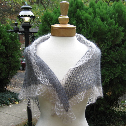 Woman's Hairpin Lace Shawl Crochet Pattern | Red Heart