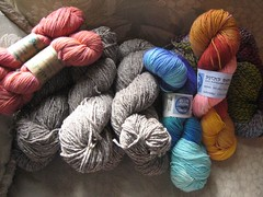 The Rhinebeck haul
