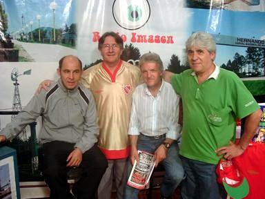 Ricardo Bochini - Mateo Palmeri - José Luis Celli - José Ferrero
