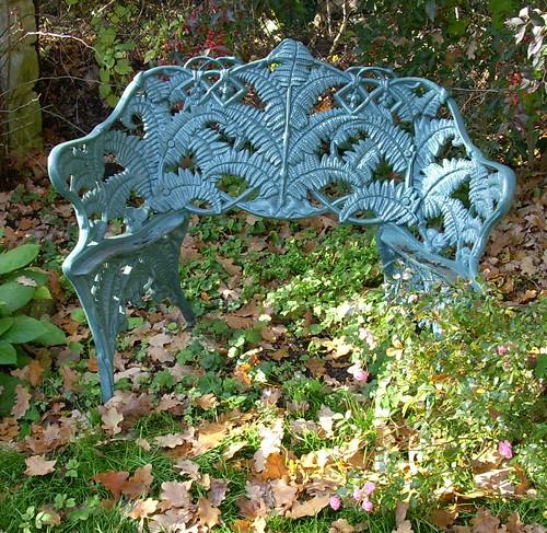 Gartenbank ohne Sitz