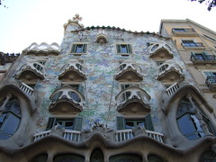 Gaud's Casa Batll (skinnydiver) Tags: barcelona spain gaud casabatll