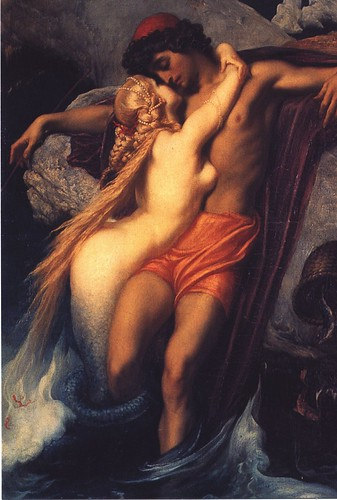 The Fisherman and the Siren by Frederick Lord Leighton