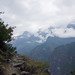 The upper trail at tiger leaping gorge