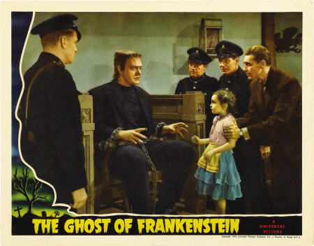 ghost of frankenstein