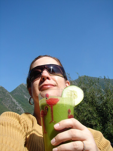Sippin the Green Drink! by Texas to Mexico.