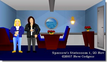Sparrow's Stateroom 1, 23 Nov ©2007 New Codgers