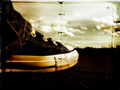 surreal #1: landed on the 49th chapter (nick_andika) Tags: converse chapter landed chucks lifechapter