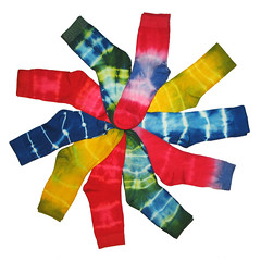 Colourful Batik Socks Spiral (Batikart ... handicapped ... sorry for no comments) Tags: blue red white color colour green rot art wheel yellow socks canon germany circle square spiral design sock colorful europe pattern unique kunst rad stripe craft socken gelb colourful blau tiedye multicolored 2008 farbe weiss muster bunt handcraft spirale batik streifen a610 kreis fellbach badenwrttemberg rainbowcolors canonpowershota610 kunsthandwerk plangi 10faves batiks frben einmalig regenbogenfarben viewonblack batikart colourartaward batiken 201202