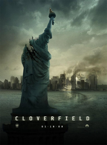 Póster definitivo de Cloverfield
