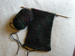 My So Called Scarf Progress 6/12/07