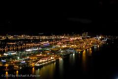 Port of Miami (Michael Pancier Photography) Tags: nightphotography usa florida miami fineartphotography havanaclub naturephotography seor downtownmiami portofmiami naturephotographer floridaphotographer michaelpancier michaelpancierphotography wwwmichaelpancierphotographycom seorcohiba