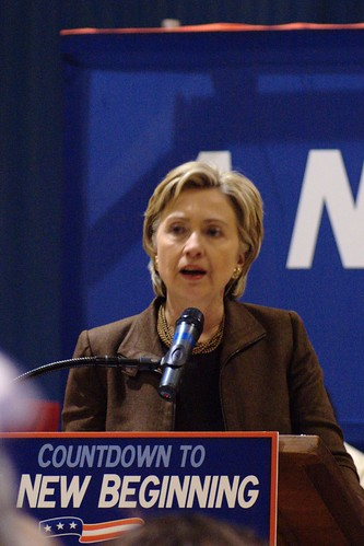 Hilary Clinton - CC: marcr/FlickR